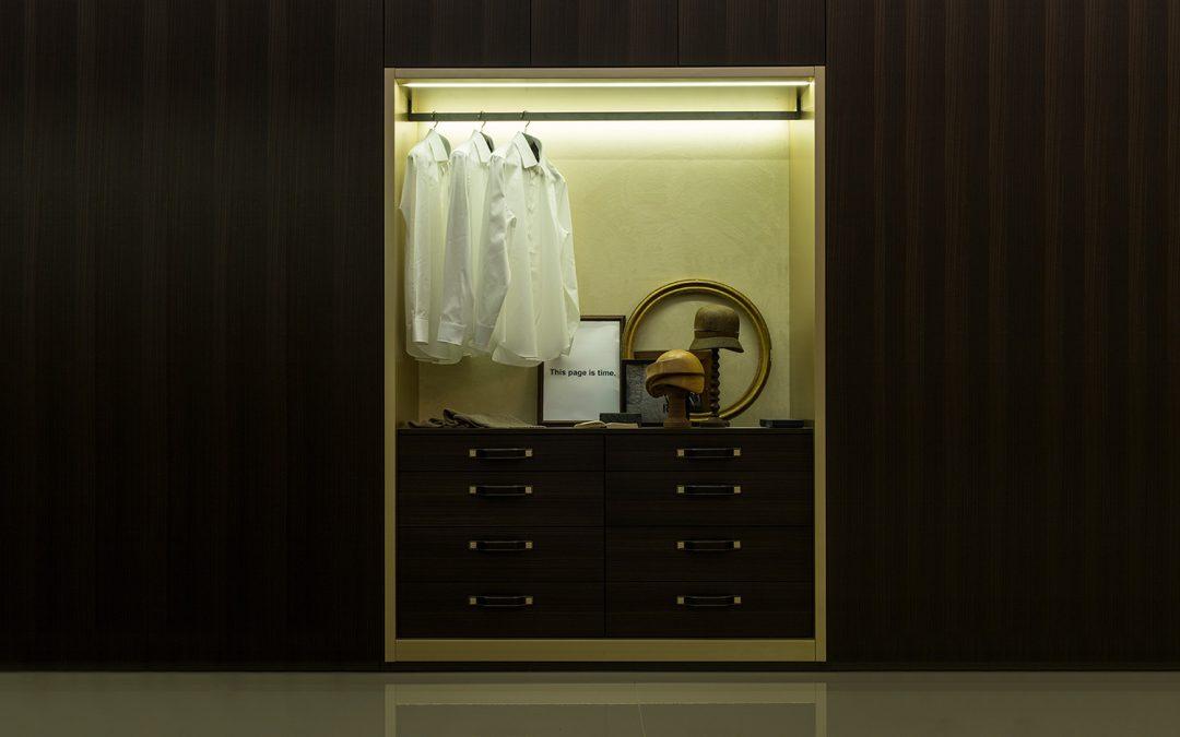 La cabina armadio perfetta per le fashion addicted
